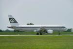 gomaさんが、ミュンヘン・フランツヨーゼフシュトラウス空港で撮影したエア・リンガス A320-214の航空フォト(写真)