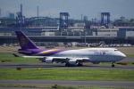 JA8037さんが、羽田空港で撮影したタイ国際航空 747-4D7の航空フォト(写真)