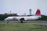 kinsanさんが、石垣空港で撮影した日本トランスオーシャン航空 YS-11A-202の航空フォト(写真)