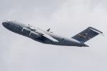 ishikenさんが、伊丹空港で撮影したアメリカ空軍 C-17A Globemaster IIIの航空フォト(写真)