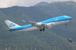 OMAさんが、香港国際空港で撮影したKLMオランダ航空 747-406Mの航空フォト(写真)