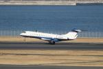 mogusaenさんが、羽田空港で撮影したE MANAGEMENT LLCの航空フォト(写真)