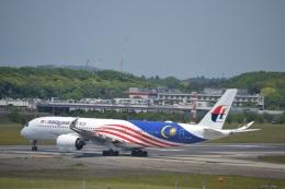 hirokongさんが、成田国際空港で撮影したマレーシア航空 A350-941XWBの航空フォト(写真)