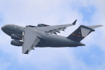 アイトムさんが、伊丹空港で撮影したアメリカ空軍 C-17A Globemaster IIIの航空フォト(飛行機 写真・画像)