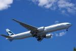 JA8037さんが、羽田空港で撮影したキャセイパシフィック航空 777-367/ERの航空フォト(写真)