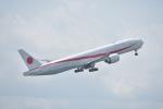 厦龙さんが、羽田空港で撮影した航空自衛隊 777-3SB/ERの航空フォト(写真)