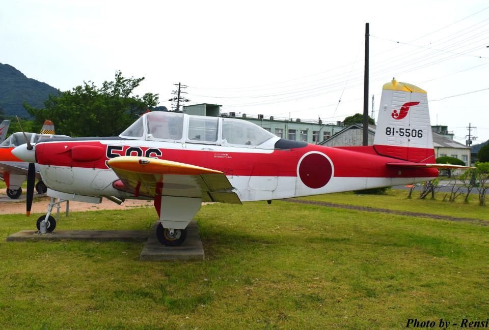 れんしさんの航空自衛隊 Fuji T-3 (81-5506) 航空フォト