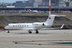 スポット110さんが、羽田空港で撮影したトルコ空軍 G-V-SP Gulfstream G550の航空フォト(写真)