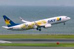 Tomo-Papaさんが、羽田空港で撮影したスカイマーク 737-8FHの航空フォト(写真)