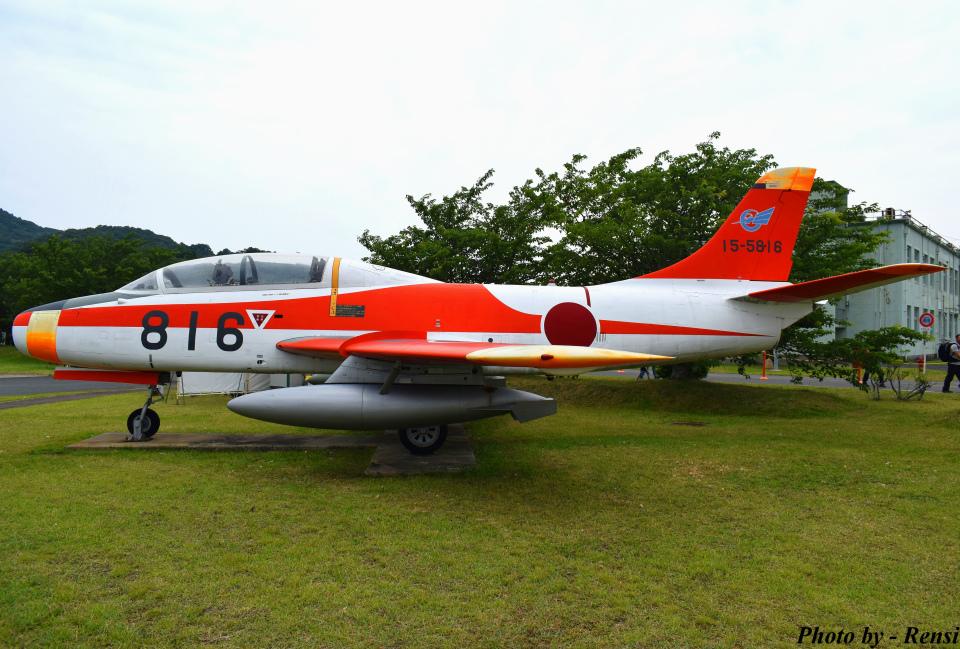 れんしさんの航空自衛隊 Fuji T-1 (15-5816) 航空フォト
