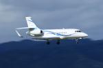 Nao0407さんが、松本空港で撮影した静岡エアコミュータ Falcon 2000EXの航空フォト(写真)