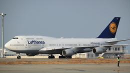 ねぎぬきさんが、関西国際空港で撮影したルフトハンザドイツ航空 747-430の航空フォト(飛行機 写真・画像)