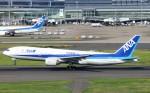 ハム太郎。さんが、羽田空港で撮影した全日空 777-281/ERの航空フォト(写真)