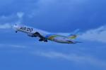 おかめさんが、羽田空港で撮影したAIR DO 767-33A/ERの航空フォト(写真)