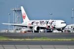 おかめさんが、羽田空港で撮影した日本航空 767-346/ERの航空フォト(写真)