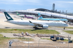 STAR・Bさんが、関西国際空港で撮影したキャセイパシフィック航空 A350-1041の航空フォト(写真)