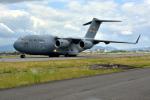きつねさんが、伊丹空港で撮影したアメリカ空軍 C-17A Globemaster IIIの航空フォト(写真)