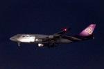 Yukipaさんが、羽田空港で撮影したタイ国際航空 747-4D7の航空フォト(写真)