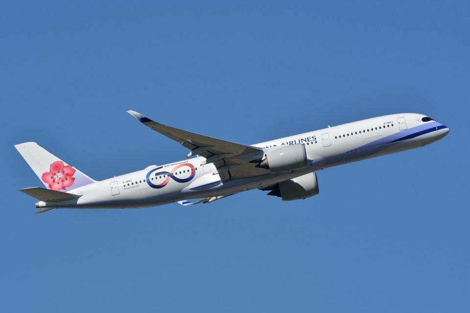 サンドバンクさんのチャイナエアライン Airbus A350-900 (B-18917) 航空フォト