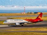 名無しの権兵衛さんが、関西国際空港で撮影した深圳航空 A320-214の航空フォト(写真)
