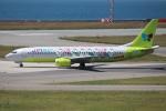 代打の切札さんが、関西国際空港で撮影したジンエアー 737-86Nの航空フォト(写真)