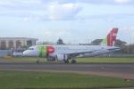 Hiro-hiroさんが、ロンドン・ヒースロー空港で撮影したTAPポルトガル航空 A319-111の航空フォト(写真)