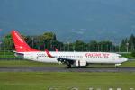 HS888さんが、鹿児島空港で撮影したイースター航空 737-86Jの航空フォト(写真)