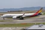 とむくんさんが、関西国際空港で撮影したアシアナ航空 A350-941XWBの航空フォト(写真)