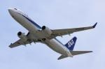とむくんさんが、関西国際空港で撮影した全日空 737-881の航空フォト(写真)