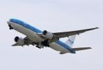 とむくんさんが、関西国際空港で撮影したKLMオランダ航空 777-206/ERの航空フォト(写真)