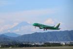 ウネウネさんが、静岡空港で撮影したフジドリームエアラインズ ERJ-170-100 SU (ERJ-170SU)の航空フォト(飛行機 写真・画像)