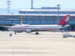 あゑぱかさんが、関西国際空港で撮影したユニ・トップエアラインズ A300B4-605R(F)の航空フォト(写真)