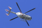 ピーチさんが、岡山空港で撮影したカワサキヘリコプタシステム BK117C-2の航空フォト(写真)