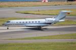 代打の切札さんが、関西国際空港で撮影したプライベートエア Gulfstream G650 (G-VI)の航空フォト(飛行機 写真・画像)
