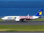 FT51ANさんが、羽田空港で撮影したスカイマーク 737-8ALの航空フォト(写真)