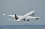 岡ちゃんさんが、中部国際空港で撮影したルフトハンザドイツ航空 A340-642Xの航空フォト(写真)