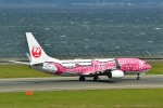 岡ちゃんさんが、中部国際空港で撮影した日本トランスオーシャン航空 737-8Q3の航空フォト(写真)
