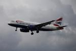 Musondaさんが、ロンドン・ヒースロー空港で撮影したブリティッシュ・エアウェイズ A319-131の航空フォト(写真)