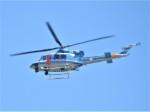 いねねさんが、名古屋飛行場で撮影した岐阜県警察 412EPの航空フォト(写真)