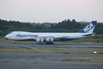 ゆう改めてさんが、成田国際空港で撮影した日本貨物航空 747-8KZF/SCDの航空フォト(写真)