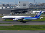 トタさんが、羽田空港で撮影した全日空 777-281/ERの航空フォト(写真)