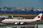 デデゴンさんが、羽田空港で撮影した航空自衛隊 747-47Cの航空フォト(写真)