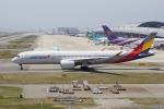神宮寺ももさんが、関西国際空港で撮影したアシアナ航空 A350-941XWBの航空フォト(写真)