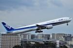 amagoさんが、伊丹空港で撮影した全日空 777-381/ERの航空フォト(写真)