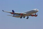 メンチカツさんが、成田国際空港で撮影したスカンジナビア航空 A340-313Xの航空フォト(写真)
