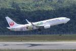 hideohさんが、広島空港で撮影した日本航空 737-846の航空フォト(写真)