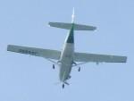 いねねさんが、名古屋飛行場で撮影したアジア航測 208 Caravan Iの航空フォト(写真)
