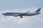代打の切札さんが、関西国際空港で撮影したフィンエアー A330-302Xの航空フォト(写真)
