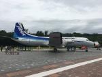 きんめいさんが、かかみがはら航空宇宙科学博物館で撮影したエアーニッポン YS-11A-213の航空フォト(写真)