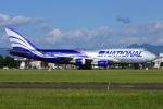 =JAかみんD=さんが、横田基地で撮影したナショナル・エア・カーゴ 747-428(BCF)の航空フォト(写真)
